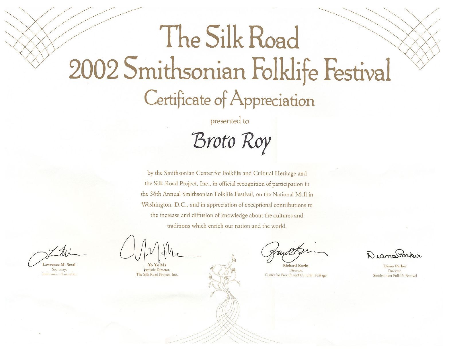 Silk Road Certif